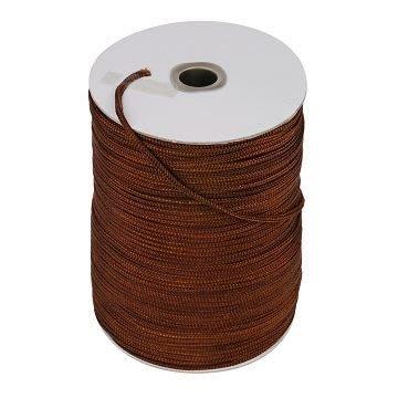 【TRENY直營】台灣製造 尼龍繩3mm褐色1尺(660尺/捲) PE繩 尼龍繩 安全 居家 繩子 3012