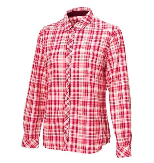 荒野 WILDLAND 女 彈性格紋內刷毛保暖襯衫 保暖襯衫 休閒襯衫 襯衫外套 吸濕快乾 防曬外套 0A72201