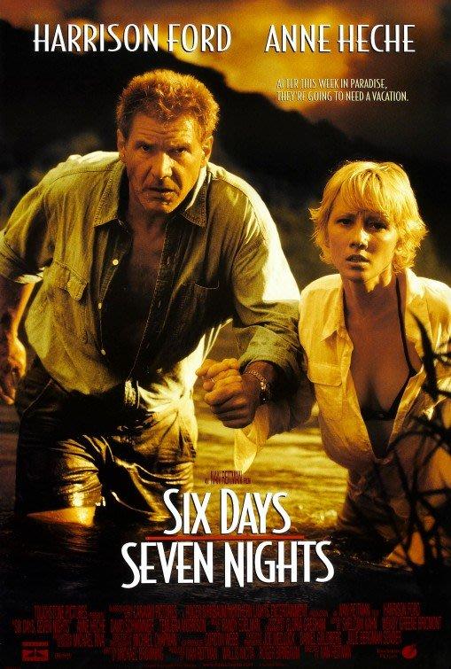 六天七夜-Six Days, Seven Nights (1998)原版電影海報