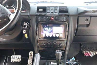 Benz 賓士 W203 W209 CLK W463 G class Android 安卓版 觸控螢幕主機 導航/藍芽