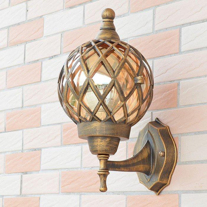 Europ 大號 室外防水壁燈 花園 歐式 中式簡約 庭院美式 客廳過道陽臺戶外 走廊燈 壁燈 E27 110-220V