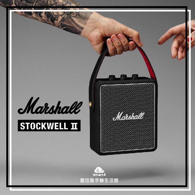 【愛拉風台中藍芽音響專賣店】現貨 Stockwell2 隨身型 藍牙音箱 MARSHALL 馬歇爾 二代 露營野餐 手提
