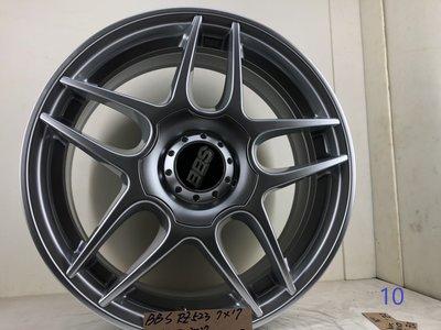 BBS鋁圈RZ523,7*17 ,4*100,et37 17吋鋁圈適用PLOL,VW,MINI,喜美
