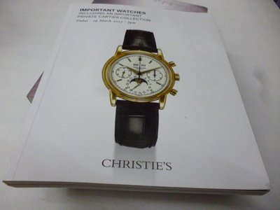買滿500免運 / 崇倫《Christies_Important watches Including an impor》