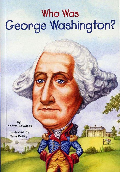 *小貝比的家*WHO WAS GEORGE WASHINGTON ?/平裝/7~12歲/偉人傳記