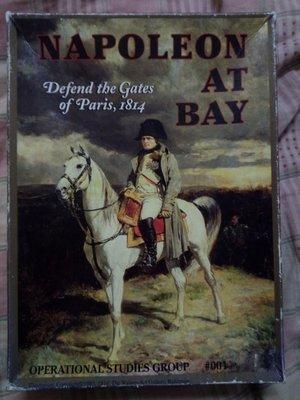 Napoleon At Bay: Defend the Gates of Paris (絕版桌遊,無膠膜),屋頂最便宜賣2650,可議價