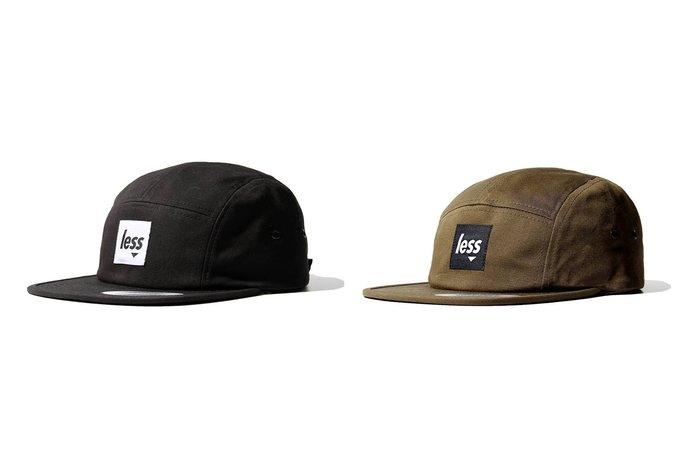 { POISON } LESS SQUARE LOGO CAMP CAP 經典款五片帽  高規格帽廠STARTER製