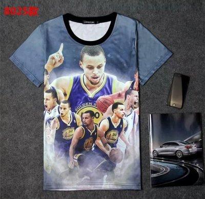 🔥柯瑞Stephen Curry庫里短袖棉T恤上衣🔥NBA勇士隊Nike耐克愛迪達運動籃球衣服T-shirt男302