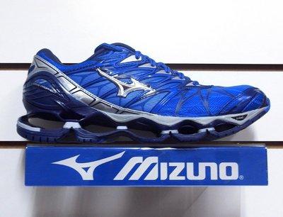 ◎跑者◎【MIZUNO 美津濃】男慢跑鞋 WAVE PROPHECY 7頂級鞋款/藍 J1GC18004 M811
