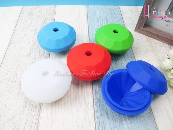 ☆[Hankaro]☆ 創意矽膠模具單顆鑽石造型製冰盒~(合併批發另洽)