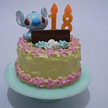 二手 迪士尼 史迪仔 生日蛋糕 Disney stitch Rement