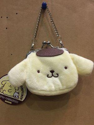 [變身館日本服飾]~SANRIO~布丁狗~零錢包~立體造型~燈芯絨~日本購入~全新商品~現品~出清價