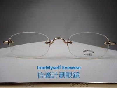 Oliver Peoples 595 A / D spectacles Rx prescription frame