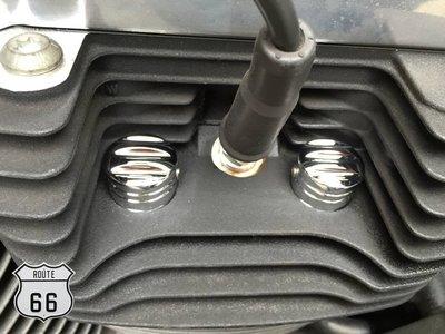 《美式工廠》哈雷 汽缸頭螺絲蓋 電鍍款 鰭片飾蓋 螺絲帽 Sportster (48,XL,DYNA,SOFTAIL)