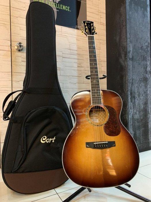 【名人樂器】Cort Gold O8 Guitar 全單 西岸雲杉 民謠吉他