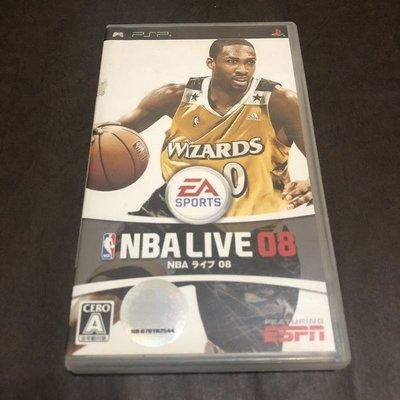 二手 PSP NBA LIVE 08 / 純日版
