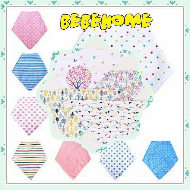 Mothercare 嬰兒純棉鈕扣三角巾口水巾 超低特價 多款花色 隨機出貨