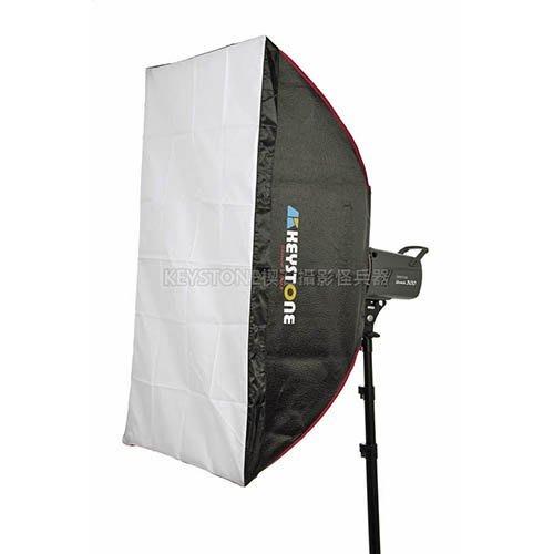 呈現攝影-Keystone LFC 60x90cm 無影罩 柔光罩 雙層柔光 顆粒銀 外拍燈持續燈 棚燈Bowens卡口