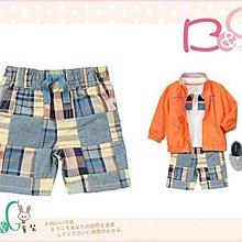 【B& G童裝】正品美國進口GYMBOREE拼布格子短褲18-24mos,2yrs