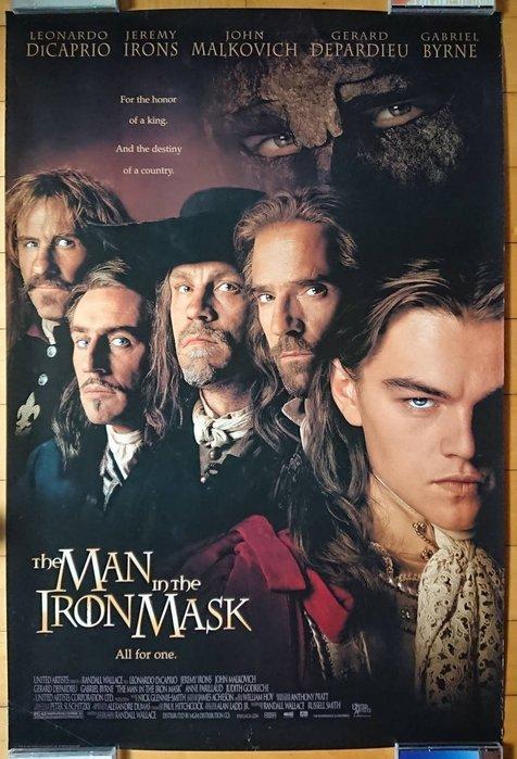 鐵面人 (The Man in the Iron Mask) - 李奧納多狄卡皮歐 - 美國原版電影海報(1998年)