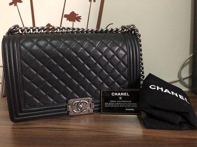 (急售,降)Chanel boy 28 黑復古銀(二手同步寄賣,下標前請告知) 嘉義縣