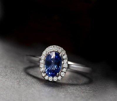 (瑪奇亞朵的珠寶世界)天然錫蘭藍寶石9...