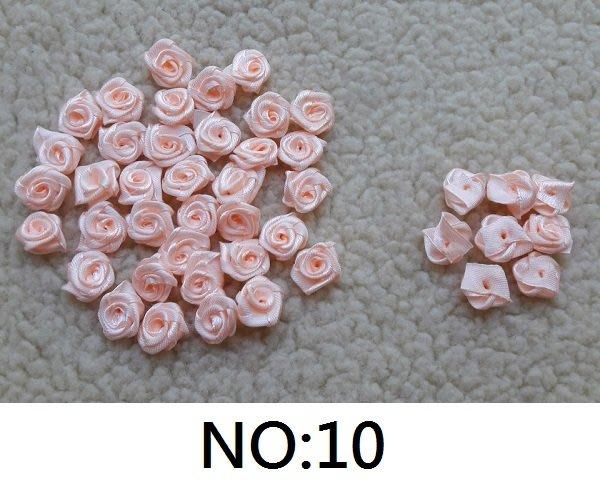 ☆創意小物店☆1.5cm緞帶玫瑰花朵NO:10 手工絲帶/婚禮小物DIY/小捧花DIY/禮物包裝配件(一朵)