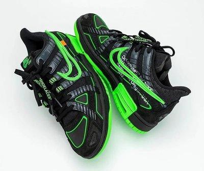 【BS】Nike Air Rubber Dunk Off-White Green Strike CU6015-001