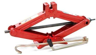 【車用剪式手搖式千斤頂-負重1噸-1套/組】汽車修車工具拆裝換輪胎工具-527008