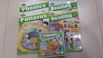 何嘉仁美語教材   EFL3,4,5,6,7,8---課本+CD
