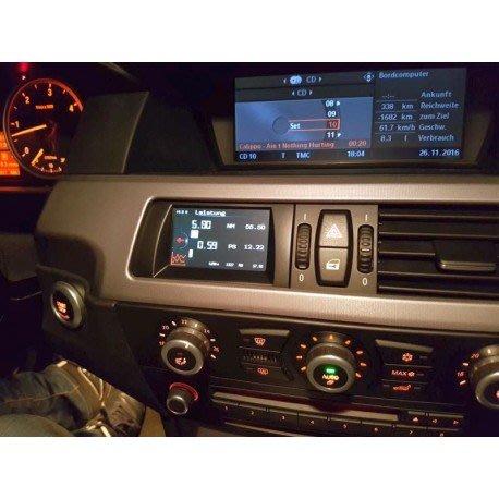 德國 AK Motion 電子 多功能 數位錶 車況 油溫 增壓 資訊 顯示幕 BMW X5 E70 專用
