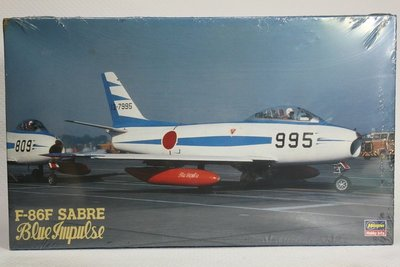 【統一模型】HASEGAWA《日本航空自衛隊 F-86F SABRE》1:32 # 51589 (SP-89)【缺貨】