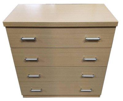 樂居二手家具(北) 便宜2手傢俱拍賣B92411*白橡牙四斗櫃 衣櫥 櫥櫃*臥室傢俱 床組 床墊 床架