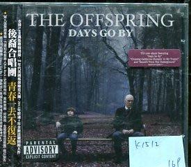 *愛樂二館* THE OFFSPRING / DAYS GO BY 全新 K1512