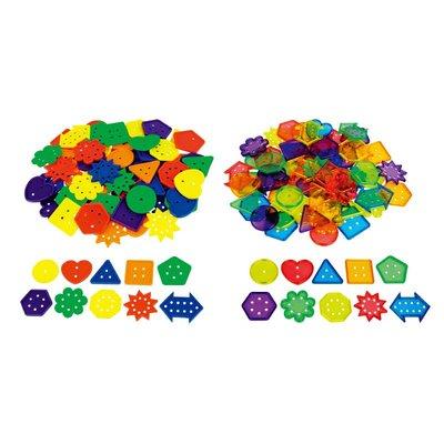 【晴晴百寶盒】 台灣品牌 形狀穿線鈕扣 WISDOM 手眼協調 生日禮物兒童家家酒 益智遊戲玩具W937
