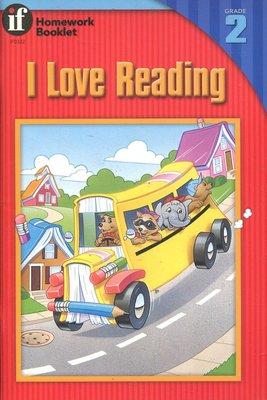 國中英語閱讀與寫作  I Love Reading 2《Homework Booklet》原價105元 【新書 未使】