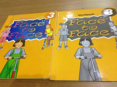 書   兒童美語  Face to Face  Ur BEST  SB WB   Book3   附CD