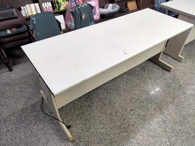 二手不鏽鋼書桌,辦公桌,180公分,台電大樓旁自取