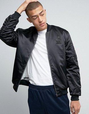 代購 adidas Originals New York Pack SST Bomber Jacket 黑色