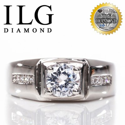 【頂級美國ILG鑽飾】八心八箭戒指-慕光情人款 RI122-主鑽約1.25克拉 結婚婚禮紀念日生日鑽戒指