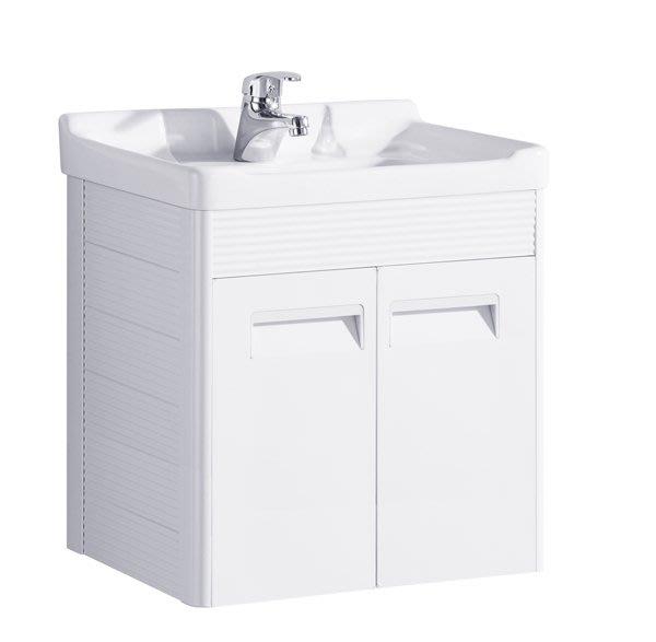FUO衛浴:出清促銷商品50公分鈦鎂鋁合金浴櫃(含龍頭)
