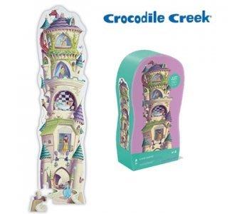 【小糖雜貨舖】美國 Crocodile Creek 大型 地板 拼圖 - 高塔公主