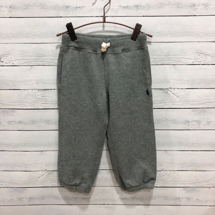 Maple麋鹿小舖 美國購買 童裝品牌POLO RALPH LAUREN 男童灰色縮口長褲 * ( 現貨2T )