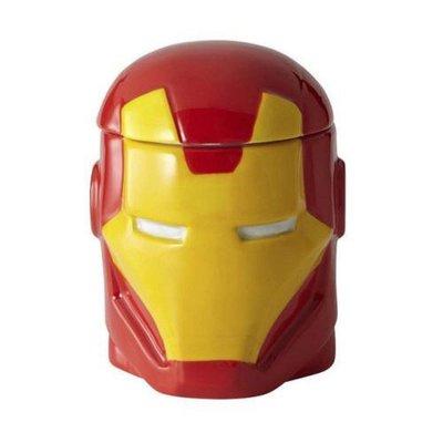 ☄️現貨☄️漫威 Marvel 鋼鐵人 Iron Man 造型陶瓷馬克杯附蓋 ( 400ML )
