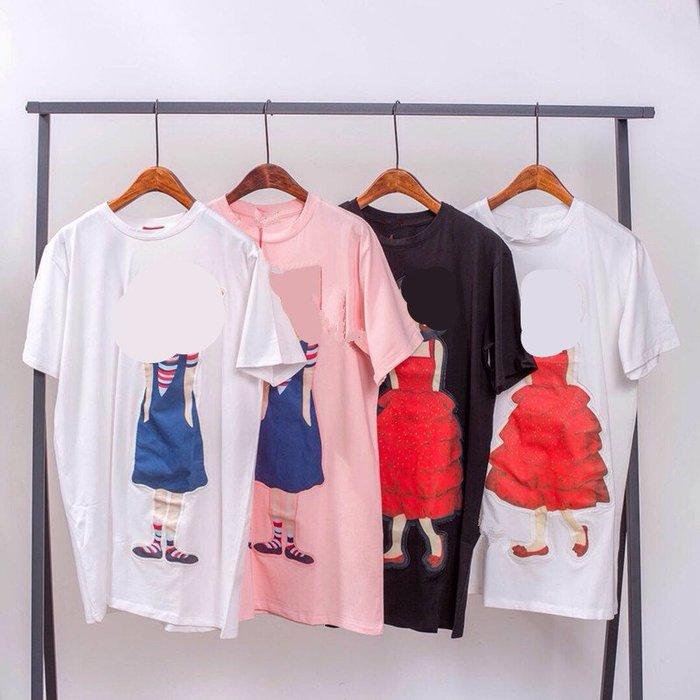 【高CP值】印花連身裙卡通兩件包郵夏季女士AG0401森女