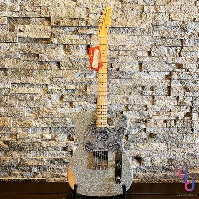 分期免運 贈原廠琴袋 Fender BRAD PAISLEY ROAD WORN Tele 墨廠 電 吉他 簽名款 鄉村