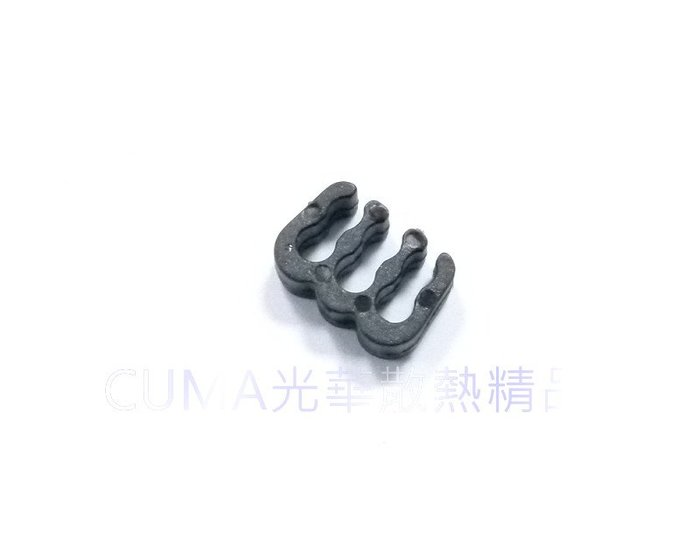光華CUMA散熱精品*整線材料 PVC 蛇皮網 編織網 理線排 理線梳 6PIN 顯示卡6PIN用 黑色~現貨
