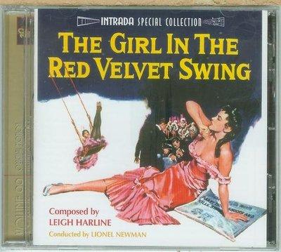 紅色天鵝絨鞦韆中的女孩 Girl in the Red Velvet Swing- Leigh Harline,全新06