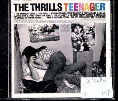 *真音樂* THE THRILLS TEENAGER 二手 K15290 (封面底破)