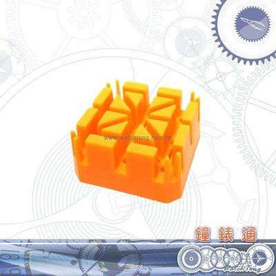 【鐘錶通】05D.3001 鐵帶固定座_小/米字座/手錶錶帶專用固定座├錶帶工具/手錶工具/金屬手鍊拆裝工具┤